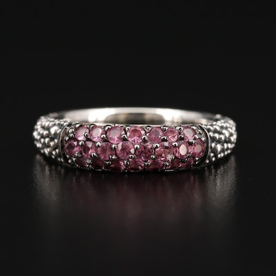 Michael Dawkins Sterling Pink Spinel Ring