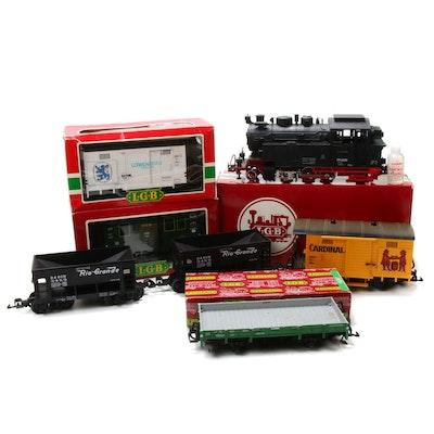 Lehmann LGB G Scale Model Train Cars