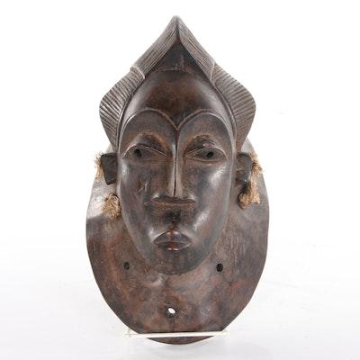 Dan Style Bu Gle Carved Wood Mask