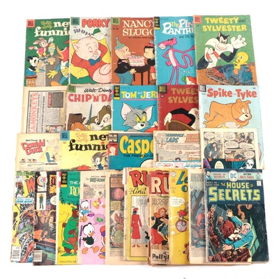 """Casper"", ""Porky Pig"", ""Pink Panther"", and Other Comic Books (1949-1978)"