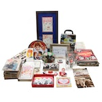"""""""I Love Lucy"""" Tin Boxes, Wrapping Paper, TV Guides, Collector's Plate and More"""