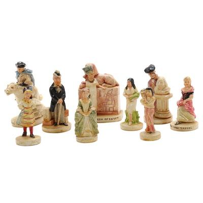 "Prescott W. Baston Sebastian Miniature Figurines Including ""Cleopatra"""