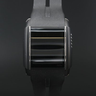 HD3 Slyde Touchscreen Stainless Steel Digital Wristwatch