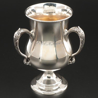 George W. Shiebler & Co. Sterling Silver Loving Cup, Late 19th/Early 20th C.