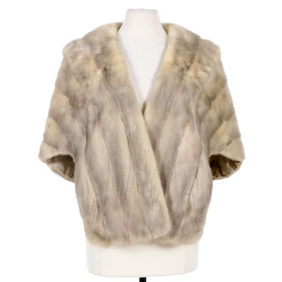 Mink Fur Stole, Mid-20th Century