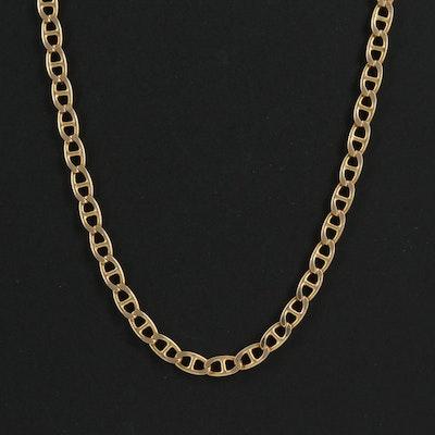14K Mariner Link Chain