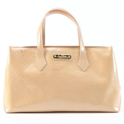 Louis Vuitton Wilshire Top Handle Bag in Monogram Vernis
