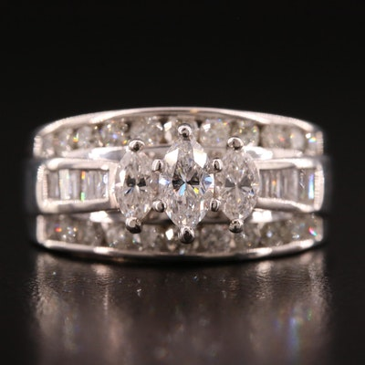 14K 1.86 CTW Diamond Ring