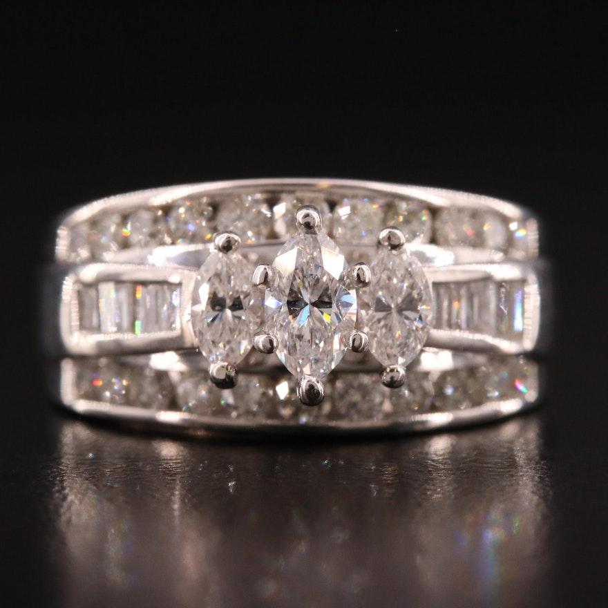 14K 1.86 CTW Diamond Ring