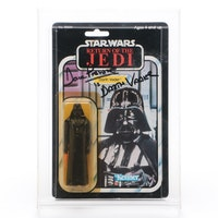 Kenner Return of the Jedi Darth Vader Figure Signed by Actor Dave Prowse, 1983
