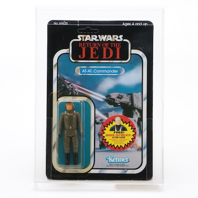 "Kenner Return of the Jedi ""AT-AT Commander"" Sealed Original Packaging, 1983"