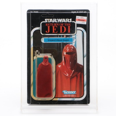 "Kenner Return of the Jedi ""Emperor's Royal Guard"" Figure Sealed in Case, 1983"