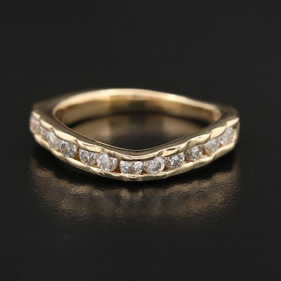 14K 0.75 CTW Diamond Band