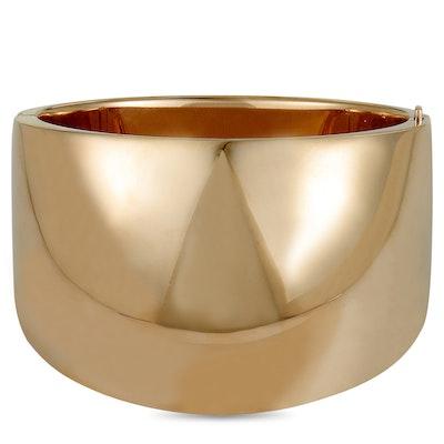 Calvin Klein Billow Rose PVD-Plated Stainless Steel Bangle Bracelet