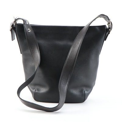 Coach Legacy Soho Bucket Bag in Black Leather