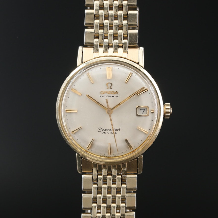 1965 Omega Seamaster Deville Gold Filled Automatic Wristwatch
