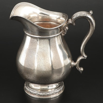 """International """"Prelude"""" Sterling Silver Water Pitcher, Mid to Late 20th Century"""