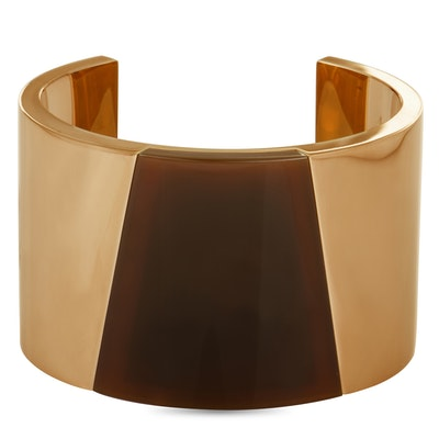 Calvin Klein Distinct Rose and Brown Gold PVD-Plated Stainless Steel Bangle Bracelet