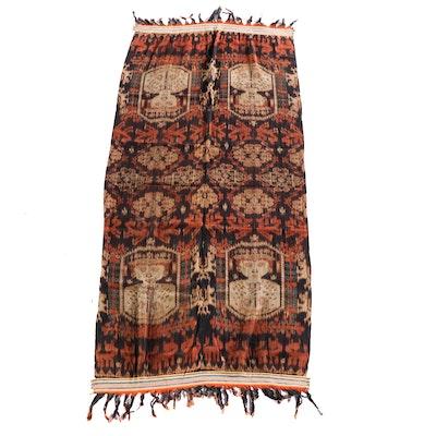 Men's Indonesian Sumbese Hinggi Ikat Textile Wrapper