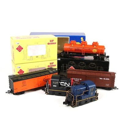 Delton and Aristo Craft G Scale Model Train Cars