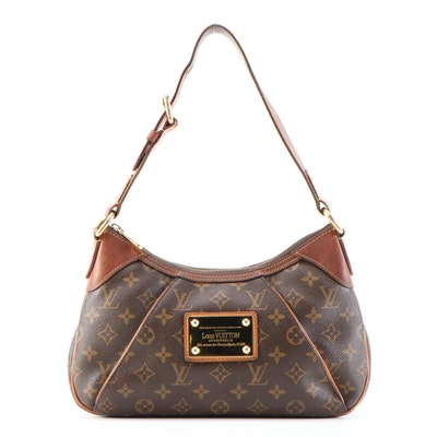 Louis Vuitton Inventeur Shoulder Bag in Monogram Coated Canvas and Leather