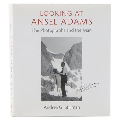 "First Edition ""Looking at Ansel Adams: The Photographs and the Man"" by Stillman"
