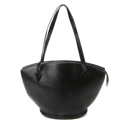Louis Vuitton Saint Jacques GM Bag in Black Epi Leather