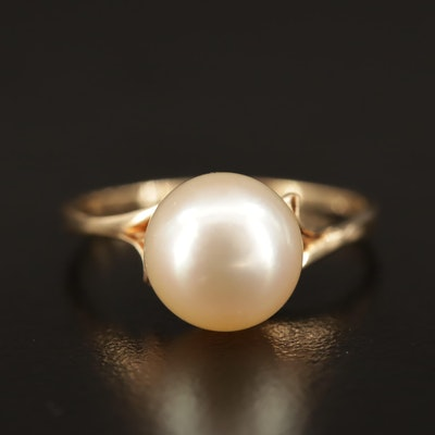 Mikimoto 14K Pearl Ring