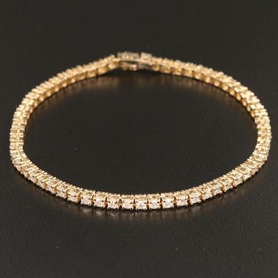 18K 2.53 CTW Diamond Line Bracelet