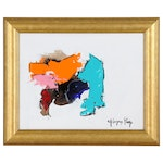 Milagros Pongo Abstract Acrylic Painting