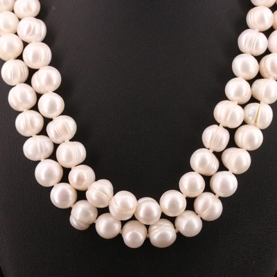 Endless Pearl Opera Length Necklace