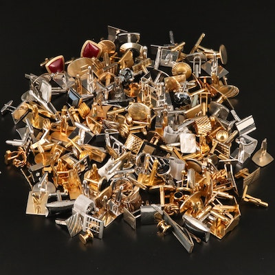Vintage Cufflinks, Tie Clips and Tuxedo Studs Featuring Hickok and Swank