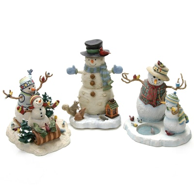 "Lynn Bywaters for Lenox, Featuring Illuminated ""Wintry Cheer"" Figurine"
