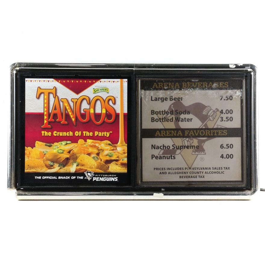 Tangos Illuminated Food and Beverage Sign