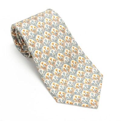 Hermès Paris 7719 OA Hand-Stitched Silk Necktie