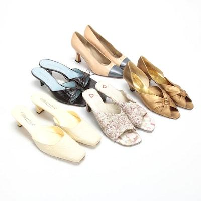 St. John, Bellofatto, Ellen Tracy, Liz Claiborne & Coldwater Creek Leather Shoes
