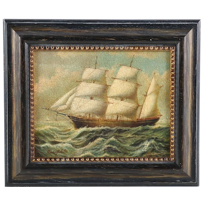 Maritime Oil Painting