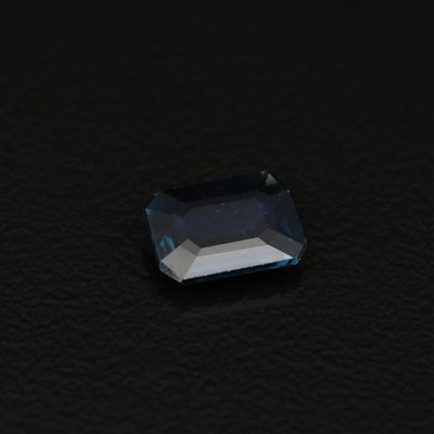 Loose 1.26 CT Faceted Sapphire