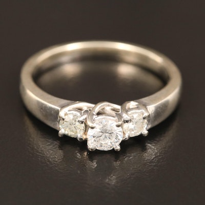 14K 0.51 CTW Diamond Ring