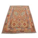 6'11 x 10'4 Handwoven Turkish Caucasian Kilim Rug