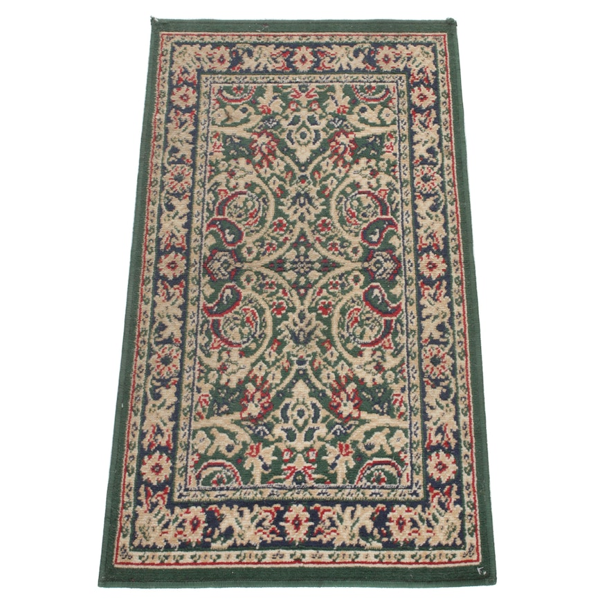 1'11 x 3'7 Power-Loomed European Persian Tabriz Rug