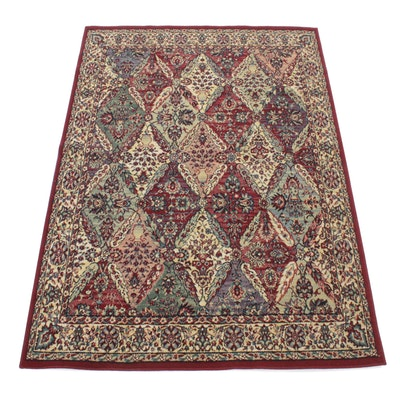 5'4 x 7'8 Power-Loomed European Persian Lavar Kirman Rug