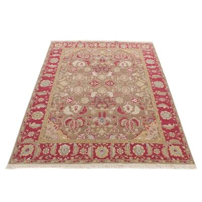 8'1 x 10'6 Handwoven Sino-Persian Tabriz Soumak Weave Room-Size Rug, 2000
