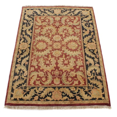 5' x 7'2 Hand-Knotted Indo-Persian Tabriz Rug