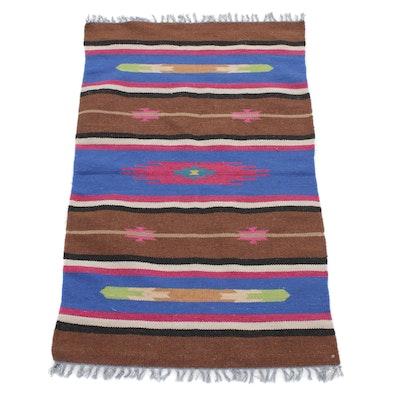 3'1 x 5'3 Handwoven Indo-Turkish Kilim Rug
