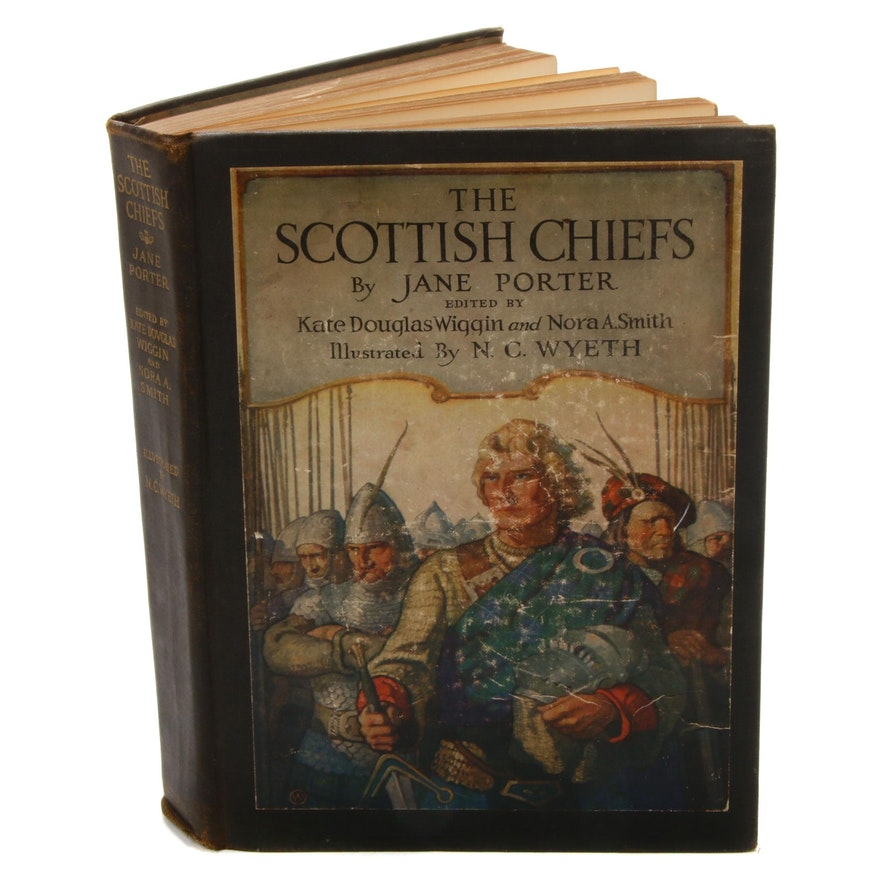 "1926 ""The Scottish Chiefs"" by Jane Porter Illustrated by N.C. Wyeth"