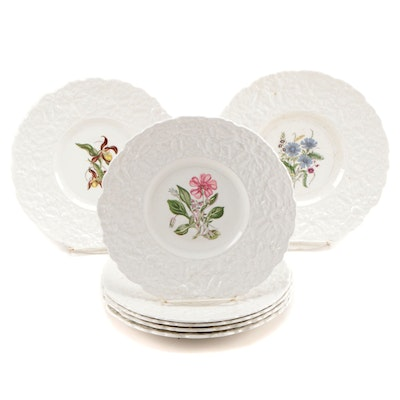 "Royal Cauldon ""Woodstock"" Ironstone Luncheon Plates"