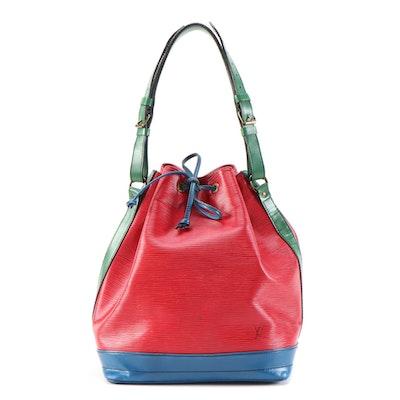 Louis Vuitton Noé Bucket Bag in Tricolor Epi Leather