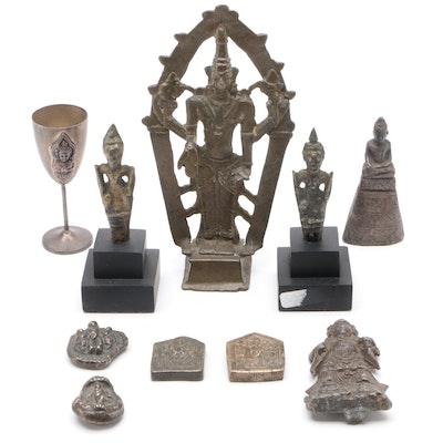 East Asian Buddha and Deity Figures
