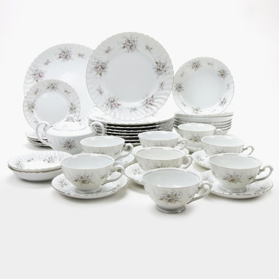 "Amcrest ""Lady Margaret"" Porcelain Dinner and Serveware"